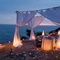 Jantar romântico, Champage on the Rocks