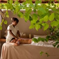 Massagem Beachfront Spa Cottage, Denis Private Island