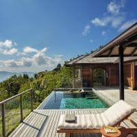 Panorama Pool Villa, Six Senses Zil Pasyon