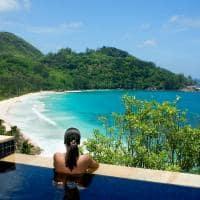 Piscina da Intendance Pool Villa, Banyan Tree Seychelles