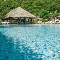 Piscina principal, Four Seasons Seychelles