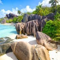 Praia Anse Source d'Argent de Seychelles