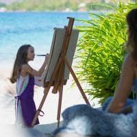 Raffles seychelles atividade crianca