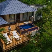 Raffles seychelles exterior villa