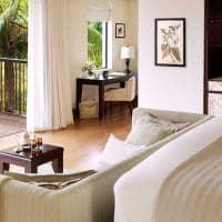 Raffles seychelles garden view villa quarto