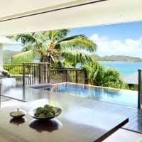 Raffles seychelles ocean view villa estar