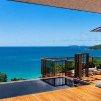 Raffles seychelles ocean view villa