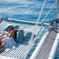 Raffles seychelles passeio catamara