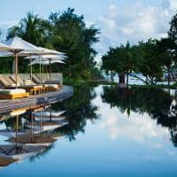 Raffles seychelles piscina principal