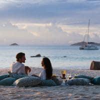 Raffles seychelles por do sol lazio