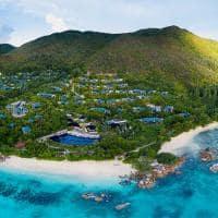 Raffles seychelles vista aerea