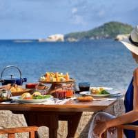 Restaurante Ocean Kitchen, Six Senses Zil Pasyon