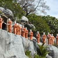 Budismo Templo Rock, Dambulla, Sri Lanka
