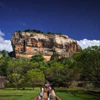 Lion Rock, Cidade Antiga Sigiriya, Sri Lanka