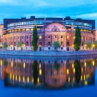 Casa do Parlamento - Estocolmo, Suécia.