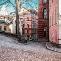 Casas de Gamla Stam - Estocolmo, Suécia.