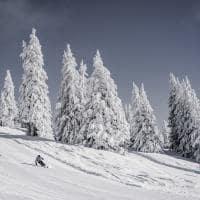 Gstaad inverno paissagem
