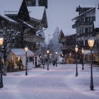Gstaad ruas inverno