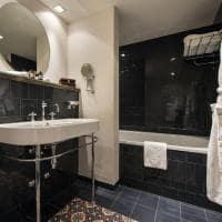 Hotel la cordee des alpes banheiro superior room