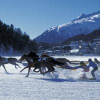 St moritz skijoering