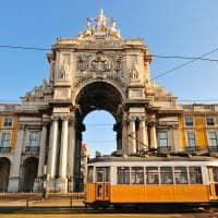 bonde praca do comercio Lisboa