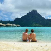 Bangalô lua de mel ilha Bora Bora Tahiti Polinésia Francesa
