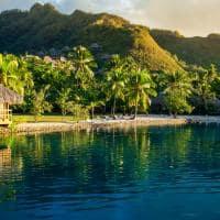 Bangalô Moorea ilhas Tahiti Polinésia Francesa