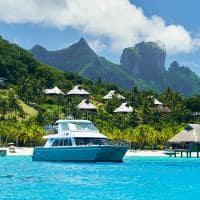 Barco privado, Conrad Bora Bora Nui