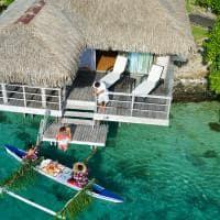 canoa Café da manhã InterContinental Resort and Spa Moorea
