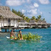 canoa moorea InterContinental Resort and Spa Moorea