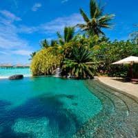 Intercontinental le moana bora bora piscina