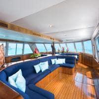 Interior barco privado, Conrad Bora Bora Nui