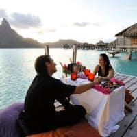 Jantar romântico InterContinental Bora Bora