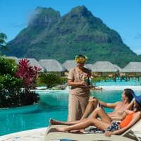 Le bora bora by pearl resorts servico piscina