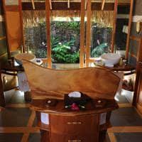 Le tahaa by pearl resorts banheiro beach pool villa