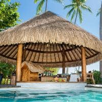 Le tahaa by pearl resorts bar piscina