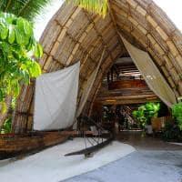 Le tahaa by pearl resorts entrada lobby