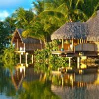 Le tahaa by pearl resorts vista externa spa