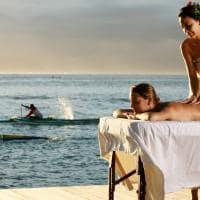 Massagem no Manava Tahiti