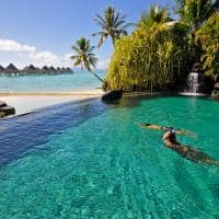 piscina intercontinental le moana bora bora