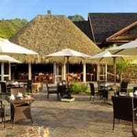 Restaurante Fare Hana, InterContinental Moorea Resort & Spa