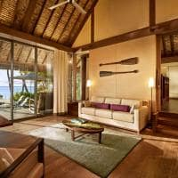 Sala de estar One Bedroom Villa, The Brando