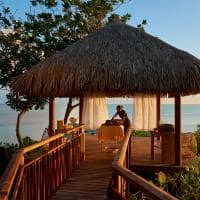 Spa ao ar livre, Conrad Bora Bora Nui