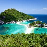 Atração turística ilha Koh Tao, Tailândia