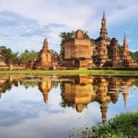 Atração turística Parque Histórico Sukhothai, Tailândia