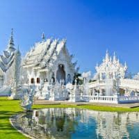 templo Branco, Wat Rong Khun, Chiang Rai, Tailândia