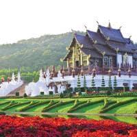 Golden hall em Chiang Mai