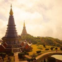 Pagode de Chiang Mai