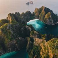 Phi phi island paisagem tailandia