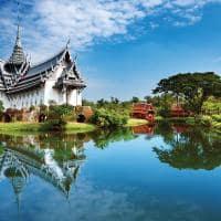 Cidade antiga de Bangkok - Sanphet Prasat
